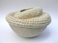 Ceramic + sisal  bowl<br />